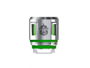 49765 smoktech tfv8 baby t12 zhavici hlava 0 15ohm green light