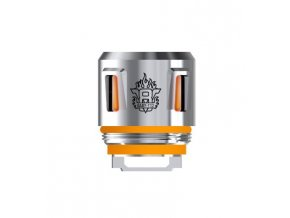 49768 smoktech tfv8 baby t12 zhavici hlava 0 15ohm orange light