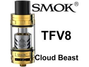 4580 smoktech tfv8 cloud beast clearomizer gold