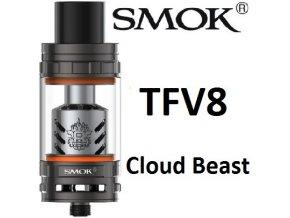 7928 smoktech tfv8 cloud beast clearomizer gun metal