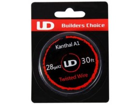 47317 ud kanthal double twisted odporovy drat 28ga 0 3mm 10m