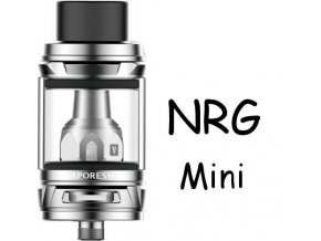 8738 vaporesso nrg mini clearomizer 2ml silver