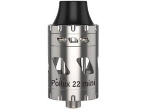 13711 vapwiz pollux 22 mini clearomizer 2ml silver