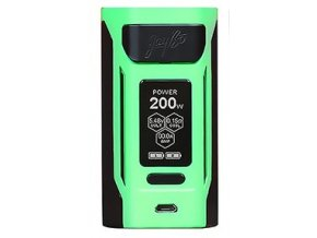 14553 wismec reuleaux rx2 20700 grip easy kit green