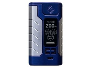 13690 wismec sinuous fj200 grip 4600mah easy kit blue