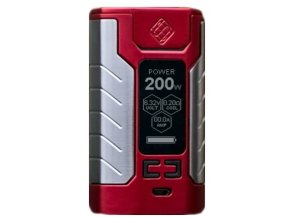13693 wismec sinuous fj200 grip 4600mah easy kit red