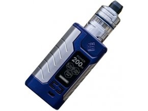 13702 wismec sinuous fj200 grip 4600mah full kit blue