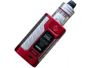 13705 wismec sinuous fj200 grip 4600mah full kit red