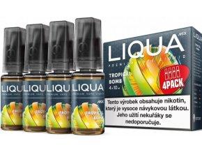 liquid liqua cz mix 4pack tropical bomb 10ml12mg