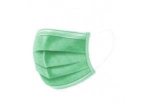 Jednorázová rouška zelená2