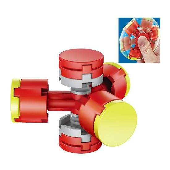 Fidget Spinner DIY červený