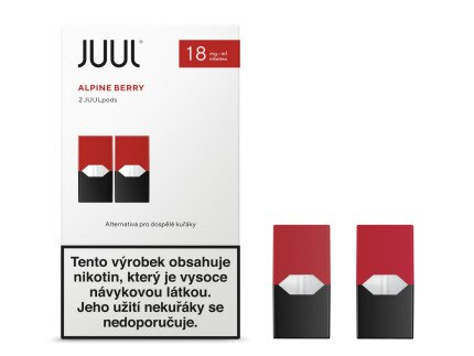 JUUL POD Alpine Berry 18mg 2pack