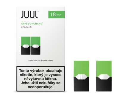 JUUL POD Apple Orchard 18mg 2pack