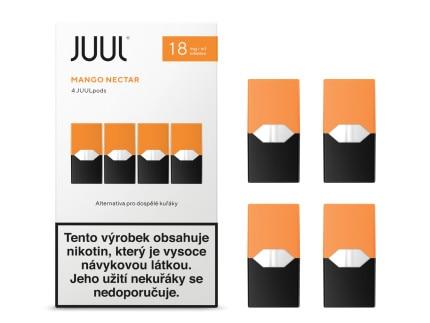 JUUL POD Mango Nectar 18mg 4pack