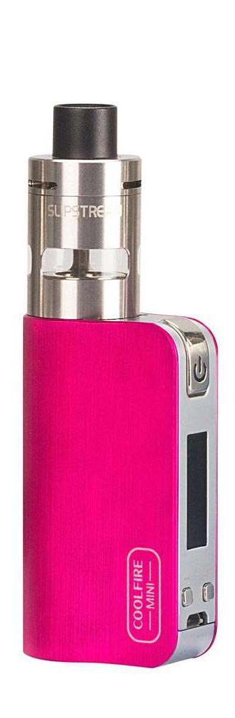 INNOKIN CoolFire Mini sada růžová Elektronická cigareta | 1300 mAh