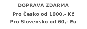 Doprava ecigarka.cz