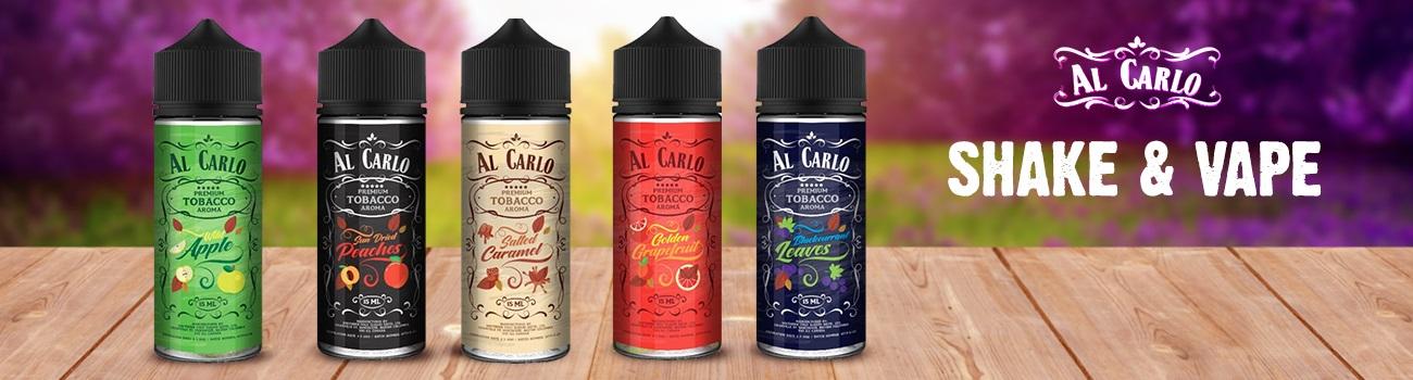 Náplň Shake and Vape do elektronických cigaret Kanadského výrobce Al Carlo.