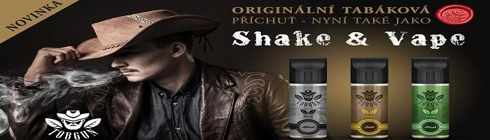 Přichází tabáková Shake and Vape série TobGun, která přináší pouze ty nejlepší tabáky dovedené k dokonalosti odvážnými tóny oříšků, ovoce, ale i medu nebo vanilky.