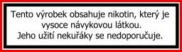 Nikotín ecigarka.cz