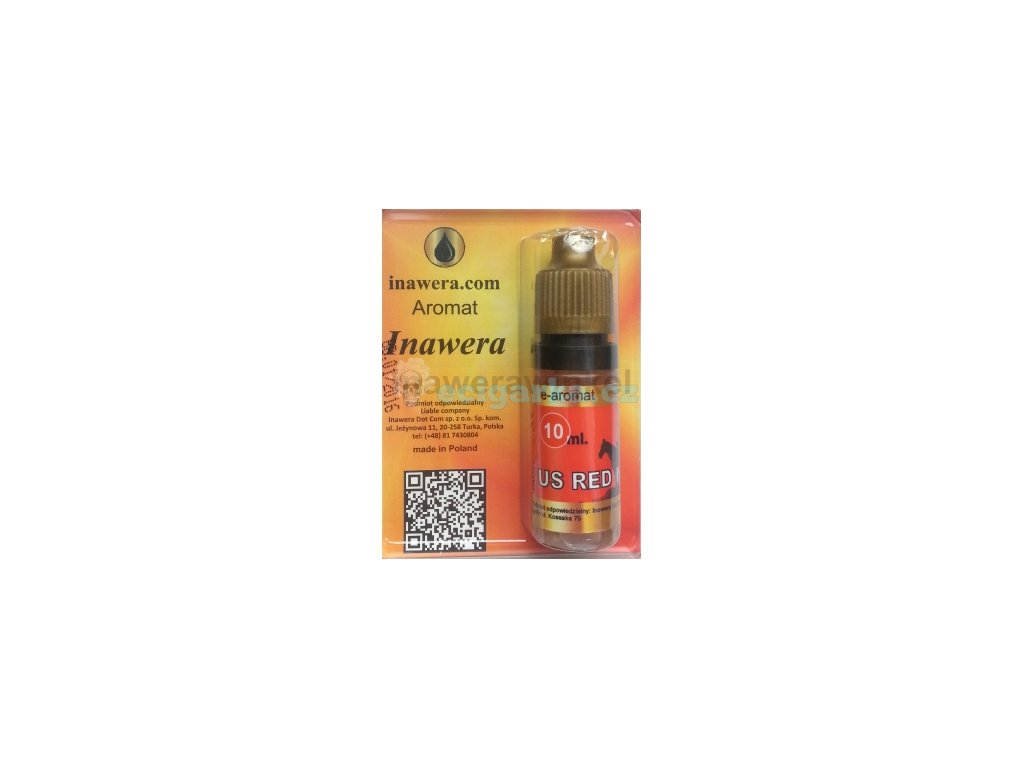 E AROMAT TOBACCO US RED MIX 10 ml 20 3