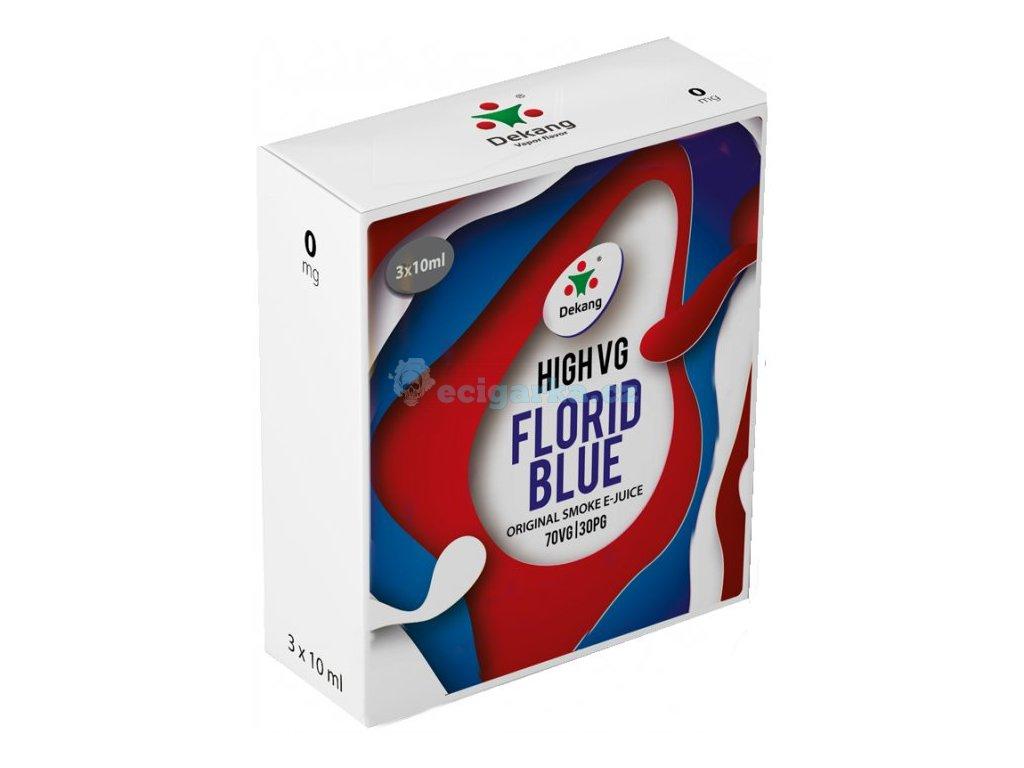 liquid dekang high vg 3pack florid blue 3x10ml 0mg