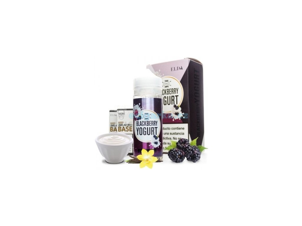 elda blackberry yogurt elda 100ml tpd crop