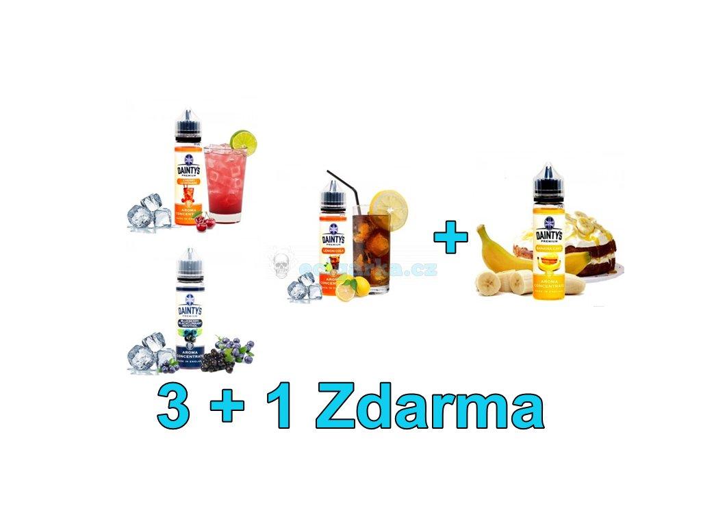 (Akce) (Dainty´s Premium) 20/60ml 3+1 Zdarma
