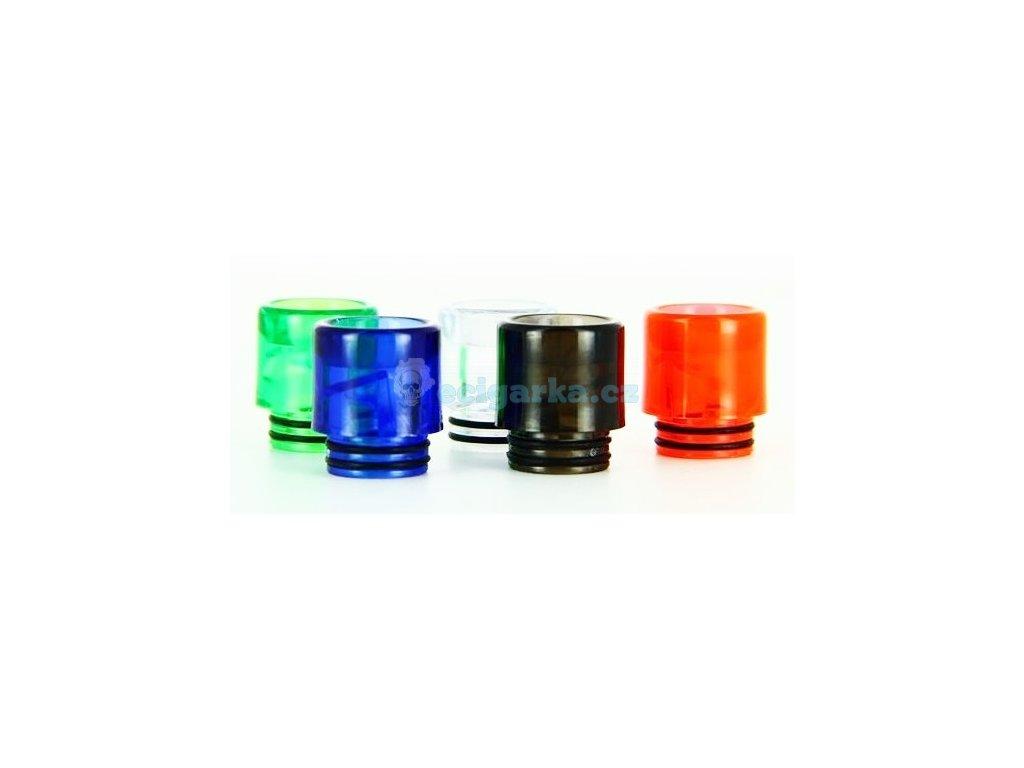 Drip tip 810 Průhledný plastový pro TFV8/12 ap..