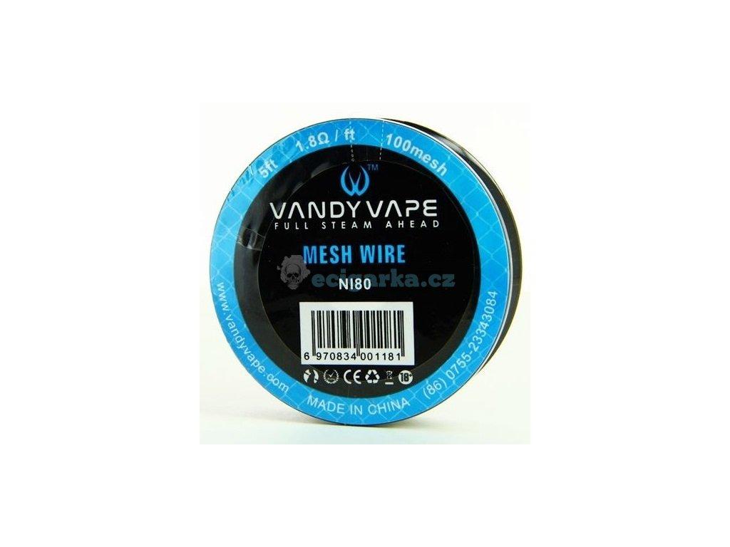 bobine mesh wire ni80 100 vandy vape