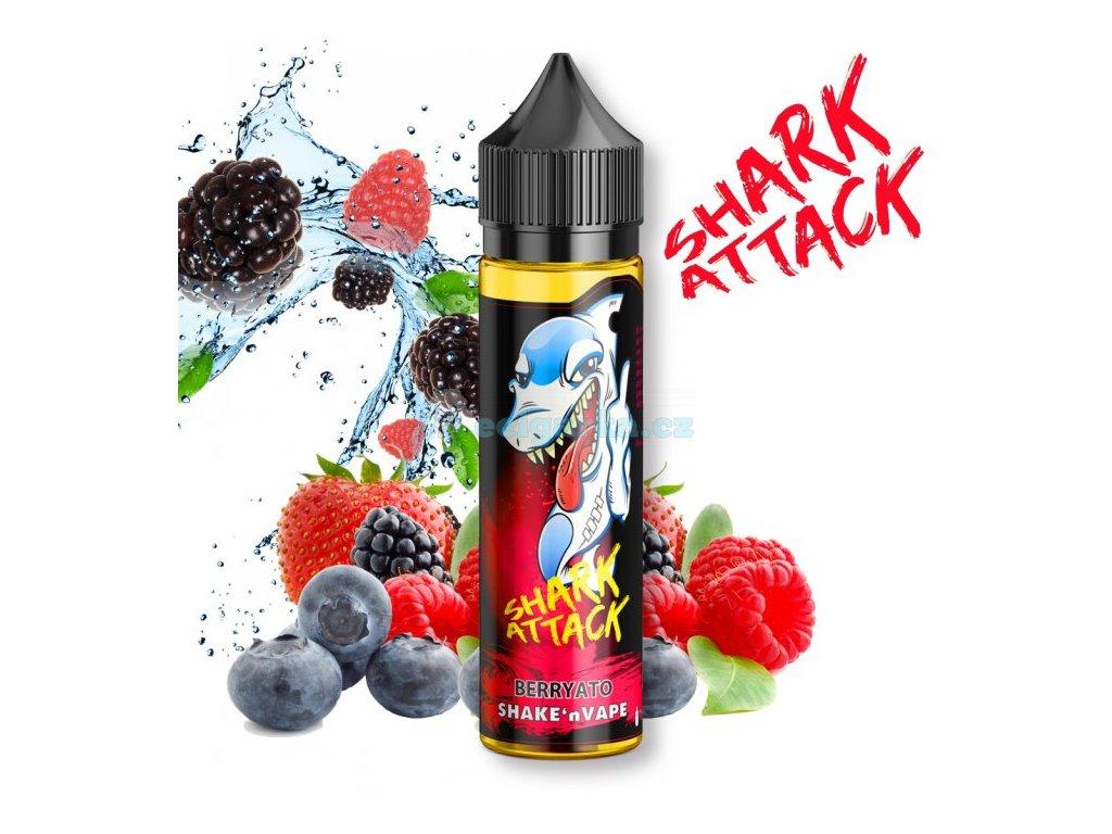 prichut imperia shark attack shake and vape 10ml berryato