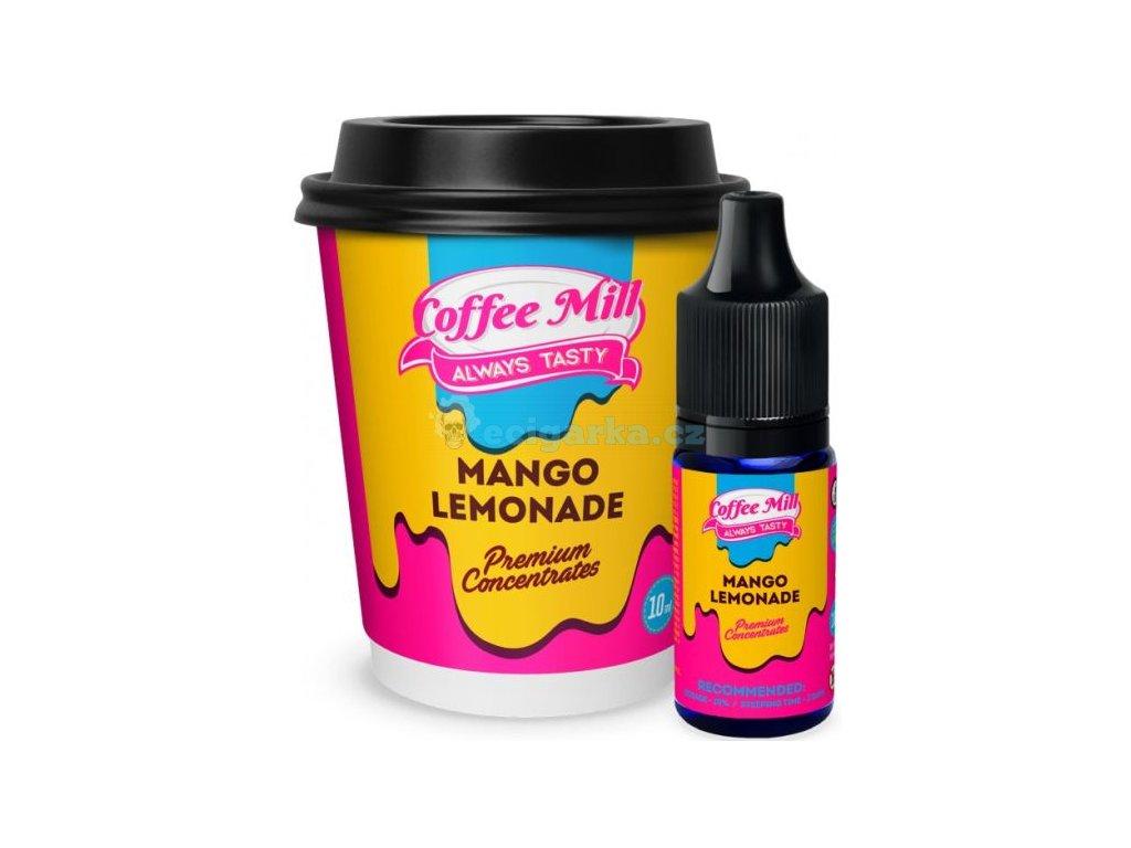 prichut coffee mill 10ml mango lemonade