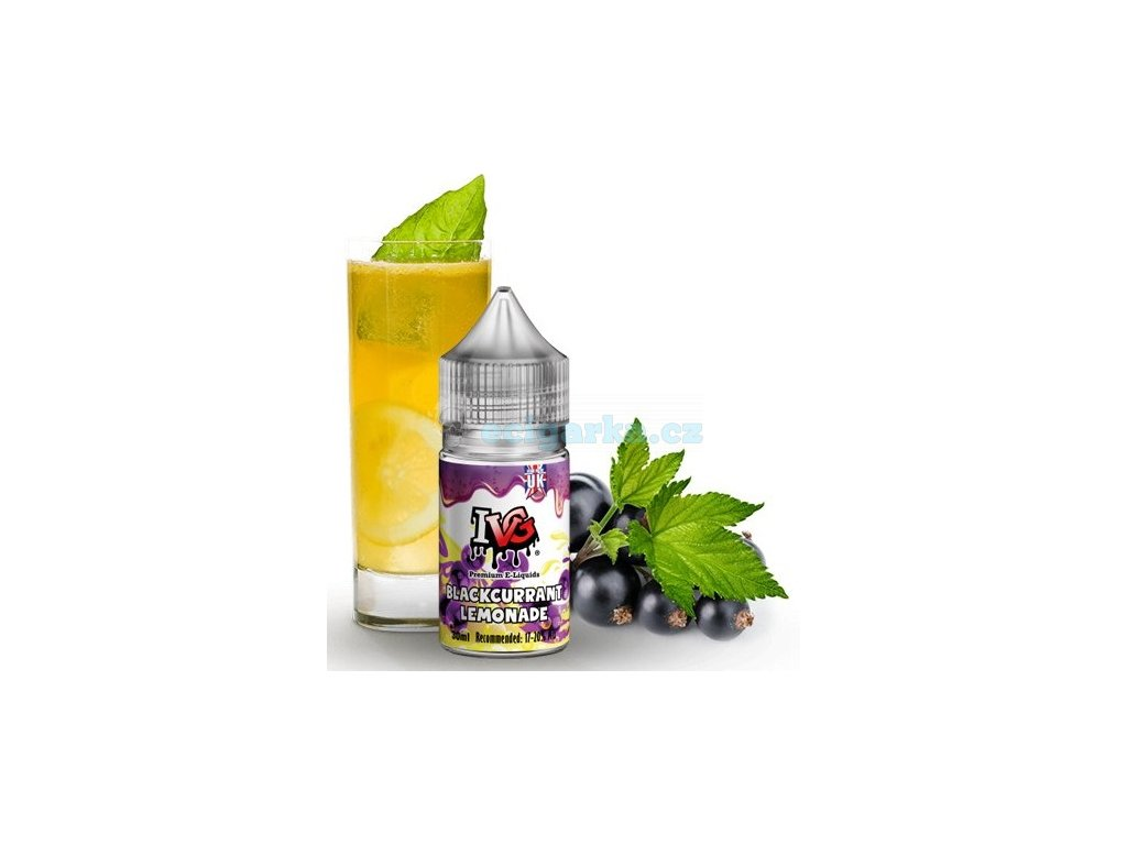 concentrate black currant lemonade 30ml ivg