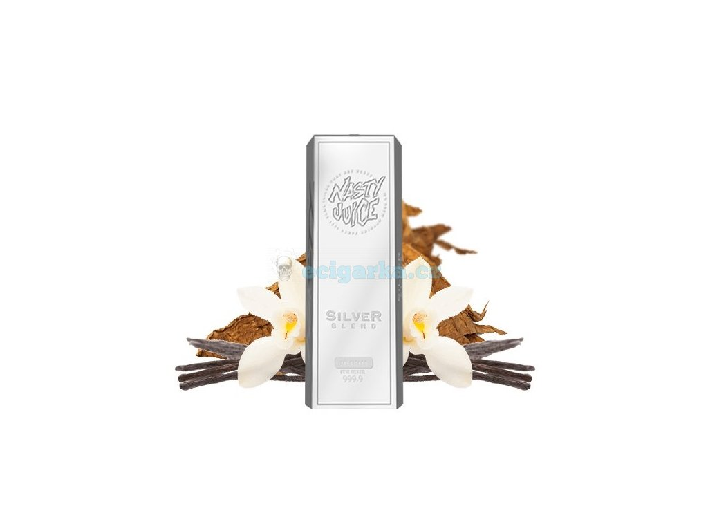 concentrate silver blend nasty tobacco series 30ml
