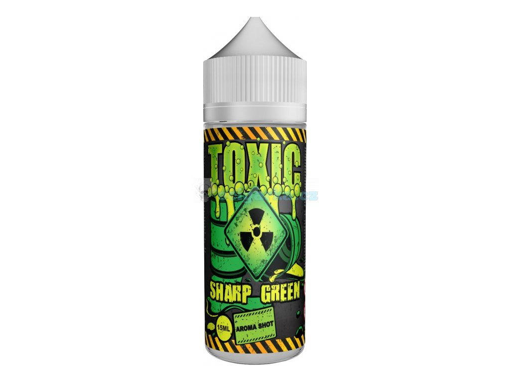 prichut toxic shake and vape 15ml sharp green
