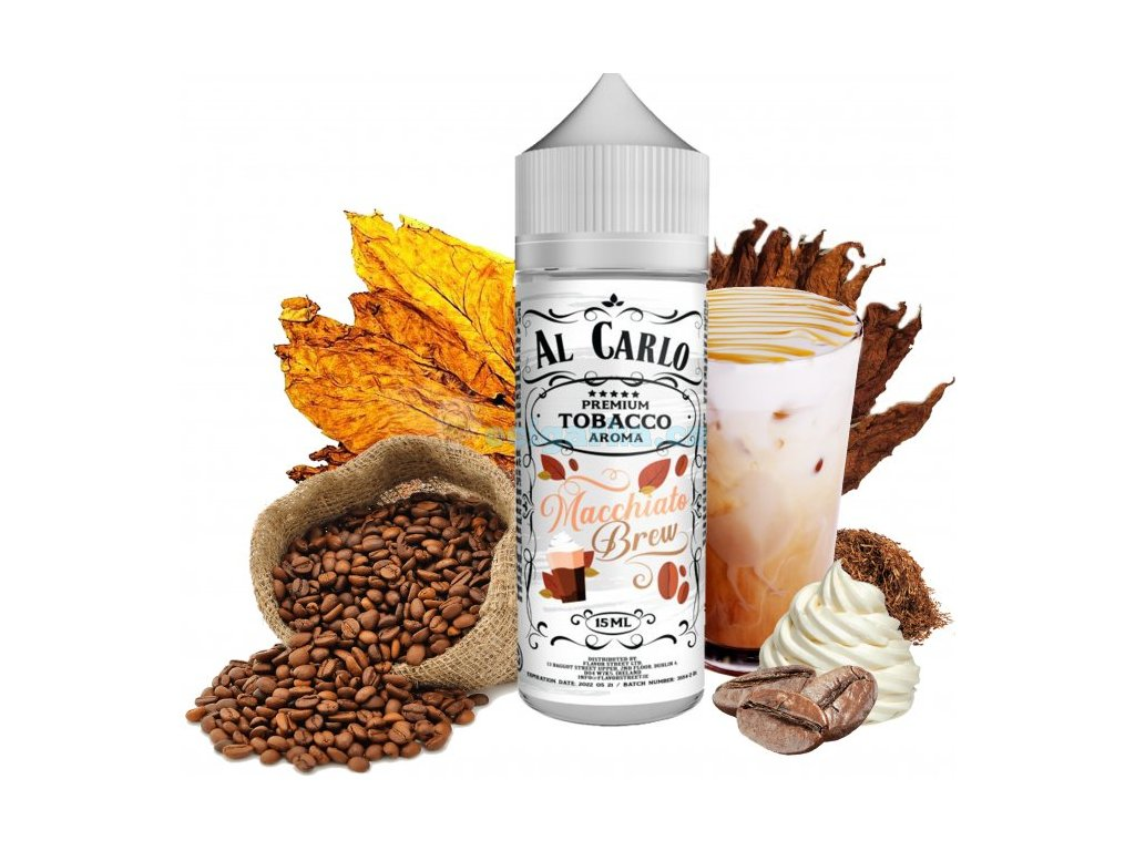 prichut al carlo shake and vape 15ml macchiato brew