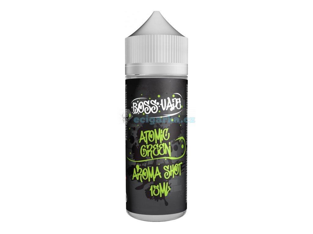 prichut boss vape shake and vape 15ml atomic green