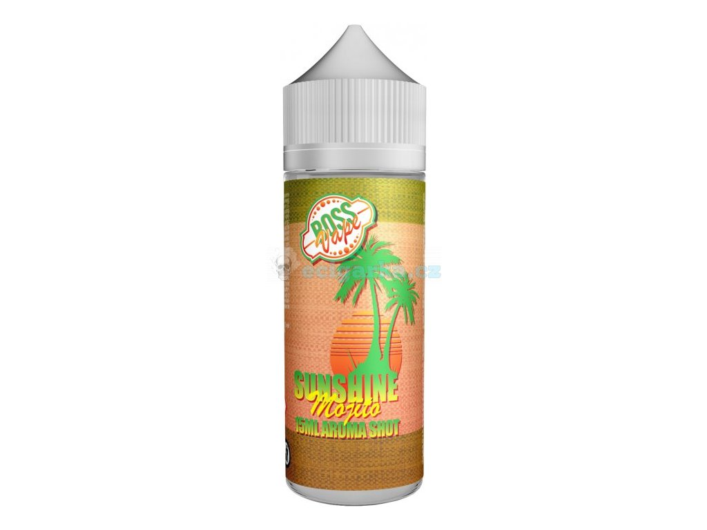 prichut boss vape shake and vape 15ml sunshine mojito