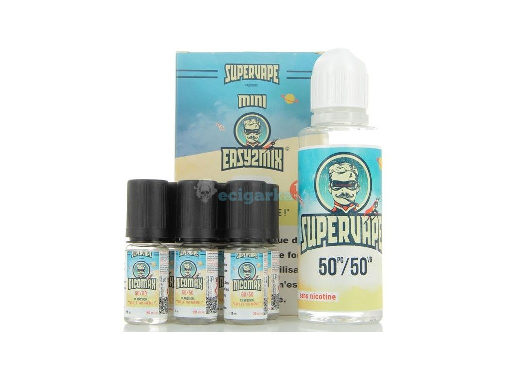 base mini easy 2 mix 5050 supervape 100ml 12mg