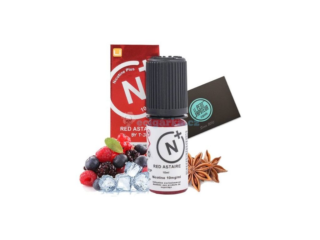 red astaire tjuice with nicotine salts