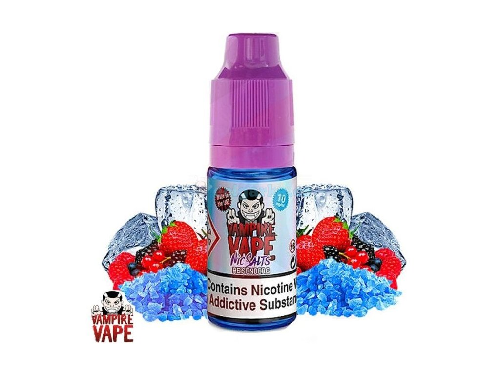 heisenberg salts 10mg 10ml vampire vape salts
