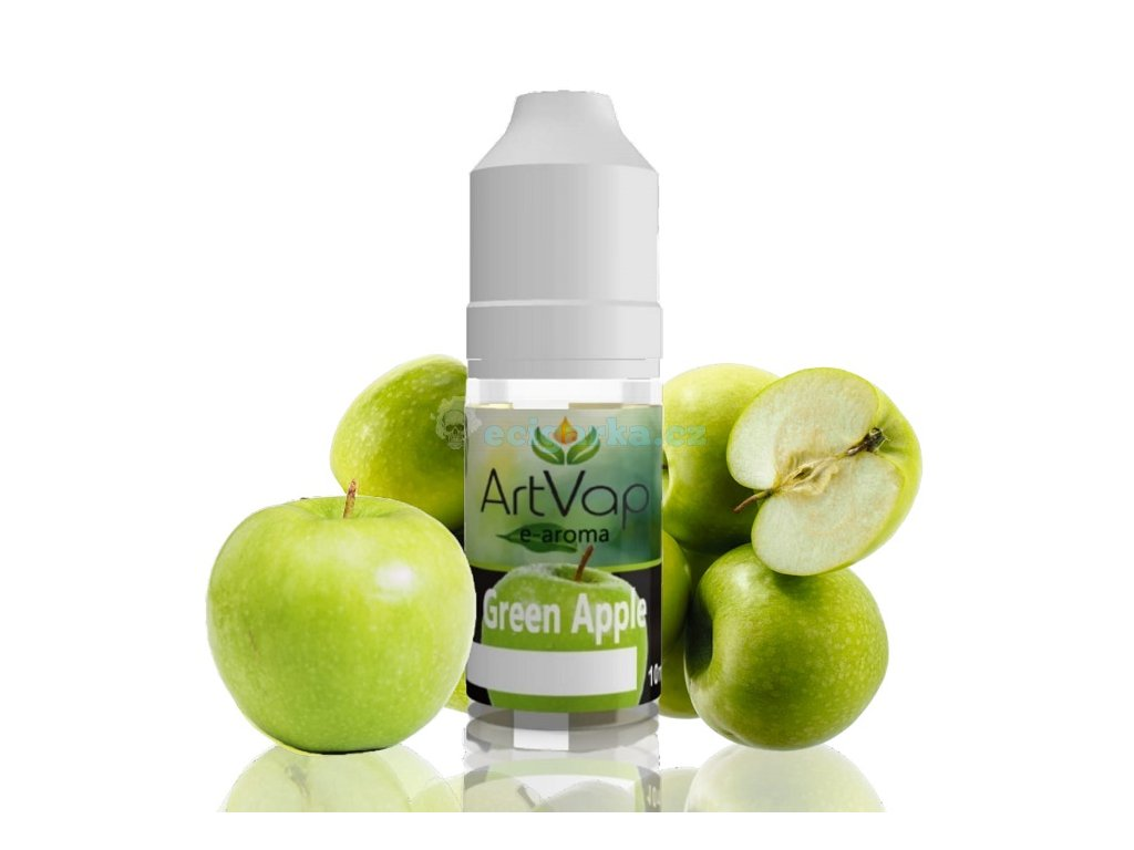 vyrn 8335mockup Art Vap Green Apple 1