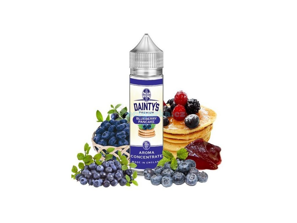 prichut daintys premium blueberry pancake 20ml
