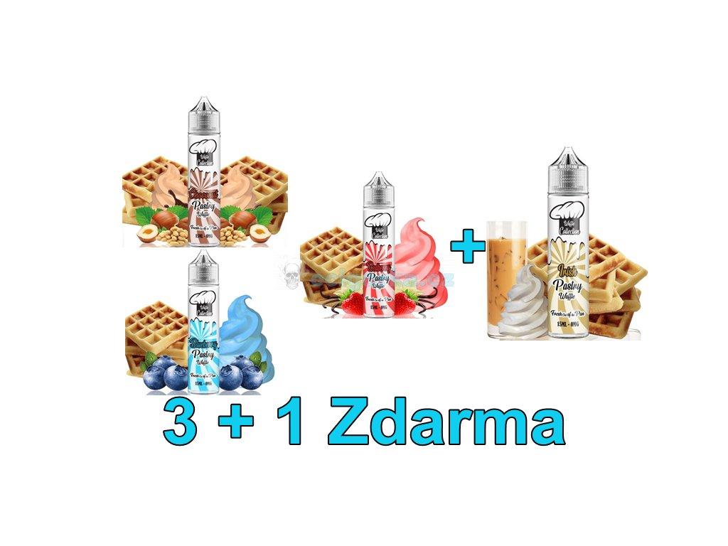 Akce liquidy 3+1 Waffle Collection