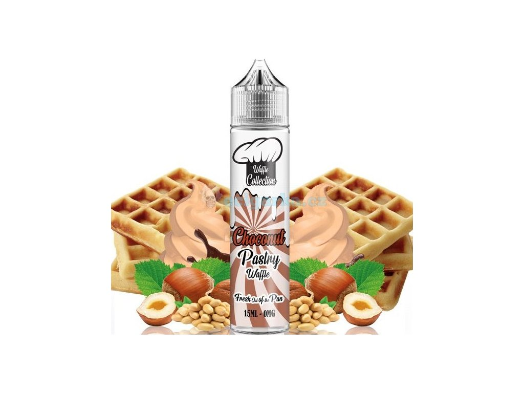 prichut waffle collection shake and vape 15ml choconut pastry