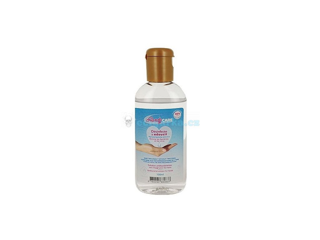 handy care hydroalcoholic solution 100ml