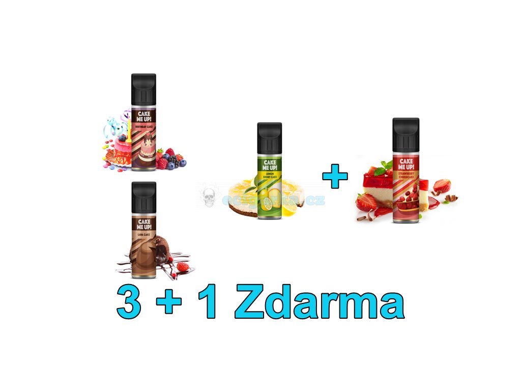 Základ 3+1 Shake and Vape Cake Me Up