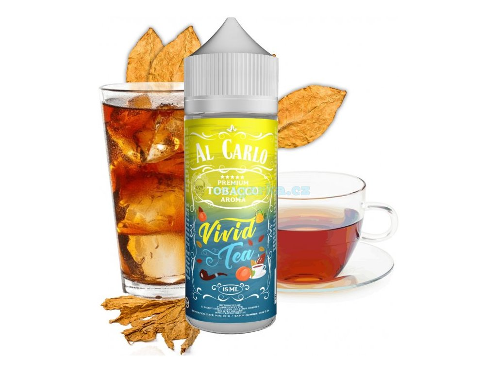 prichut al carlo shake and vape 15ml vivid tea