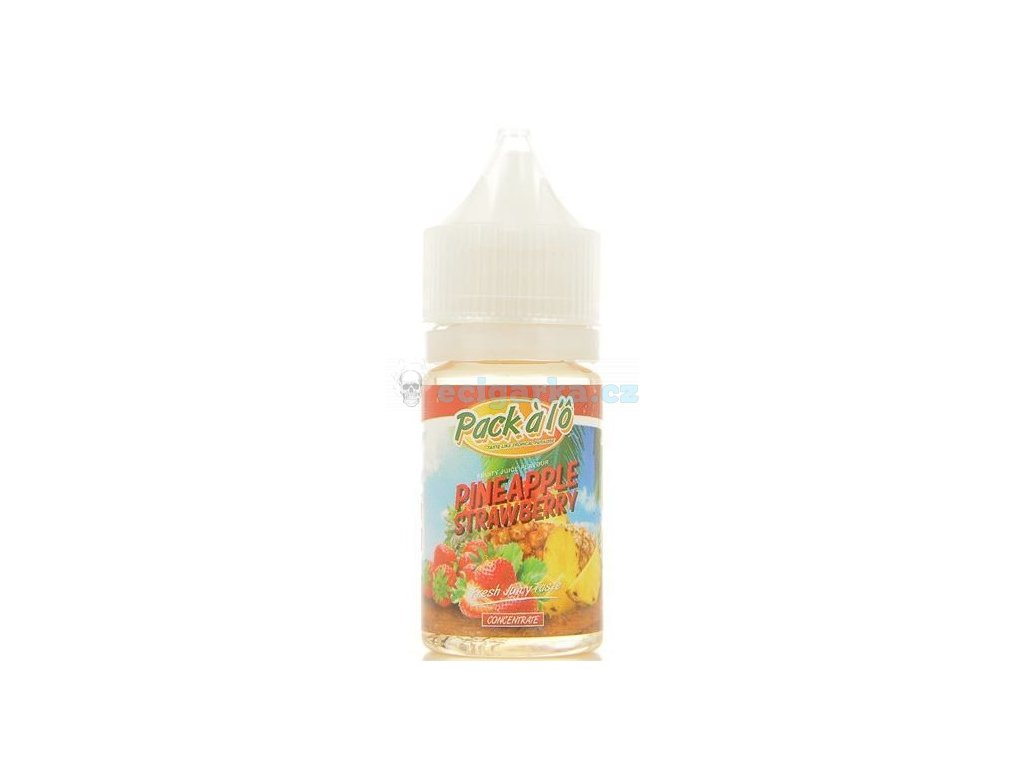 pineapple strawberry concentre pack a l o 30ml