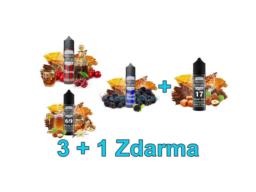 Základ 3+1Shake and Vape Flavormonks