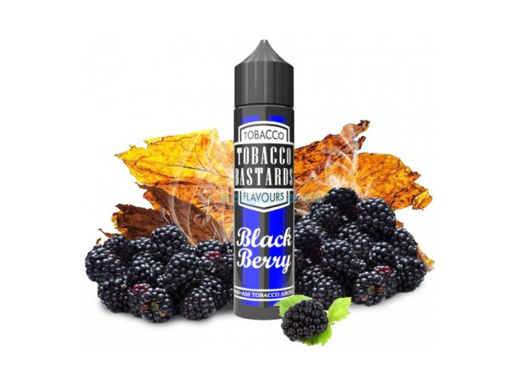 prichut flavormonks tobacco bastards shake and vape 10ml blackberry tobacco